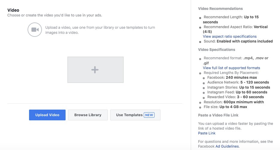 Facebook offers new ways to create videos from images and texts