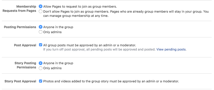 How to join a Facebook group as a page | Newsfeed org