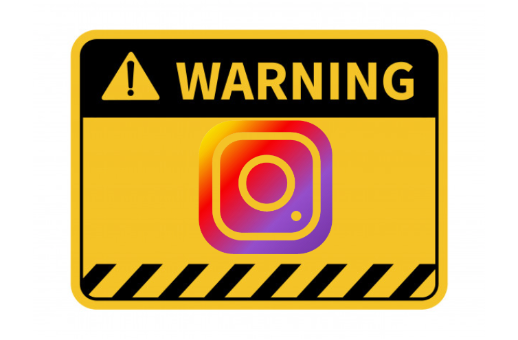 Instagram introduces a new alert for accounts close to ban