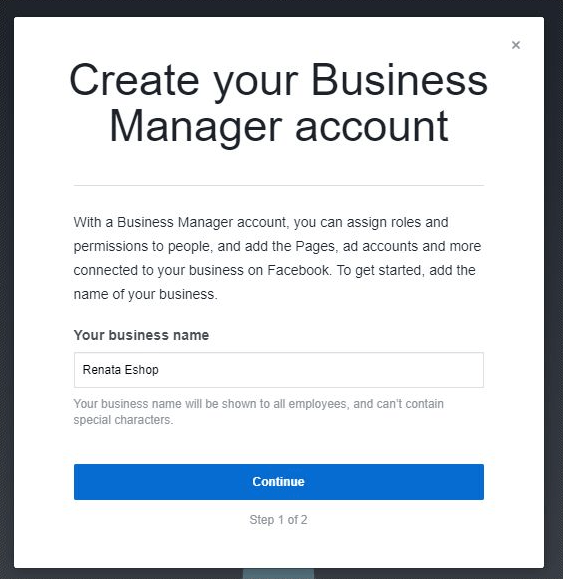 How to set up Facebook Business Manager account | Newsfeed org