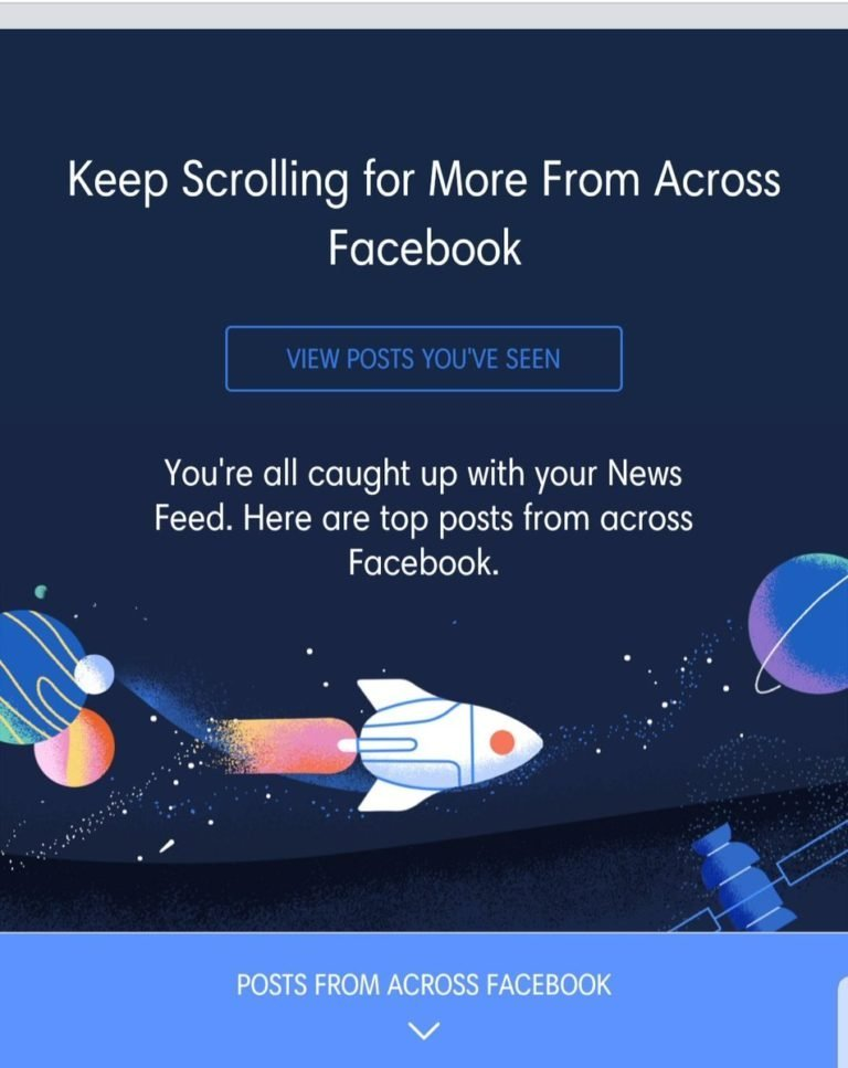Facebook tests new function Posts From Across Facebook