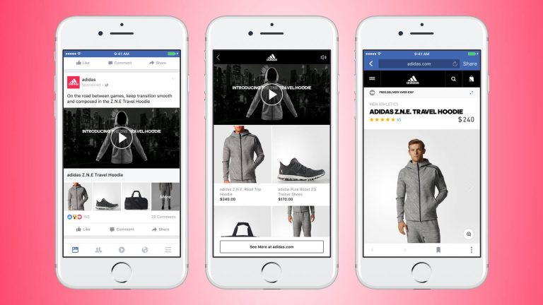 Facebook Collection Ads For Adidas Newsfeed Org