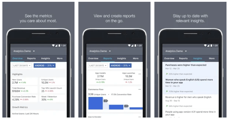Check your Facebook campaign reports on the go with the
