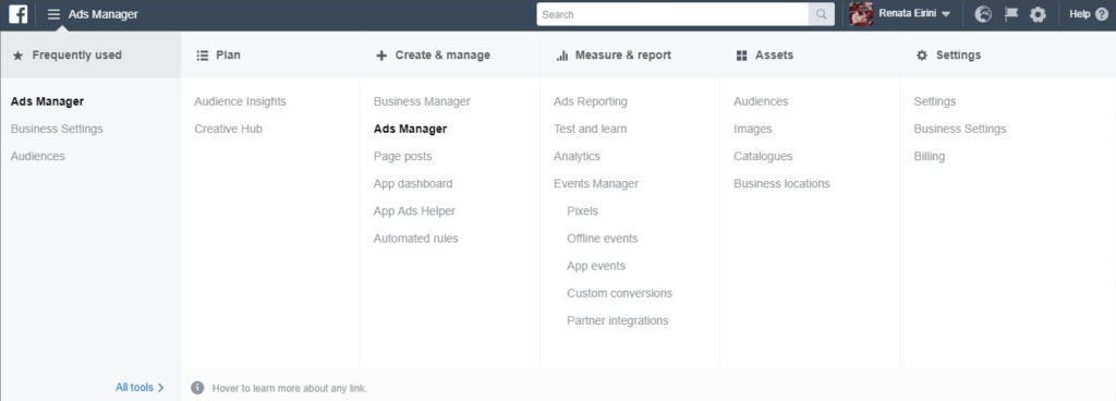 Facebook Ads Manager: How to get started | Newsfeed org