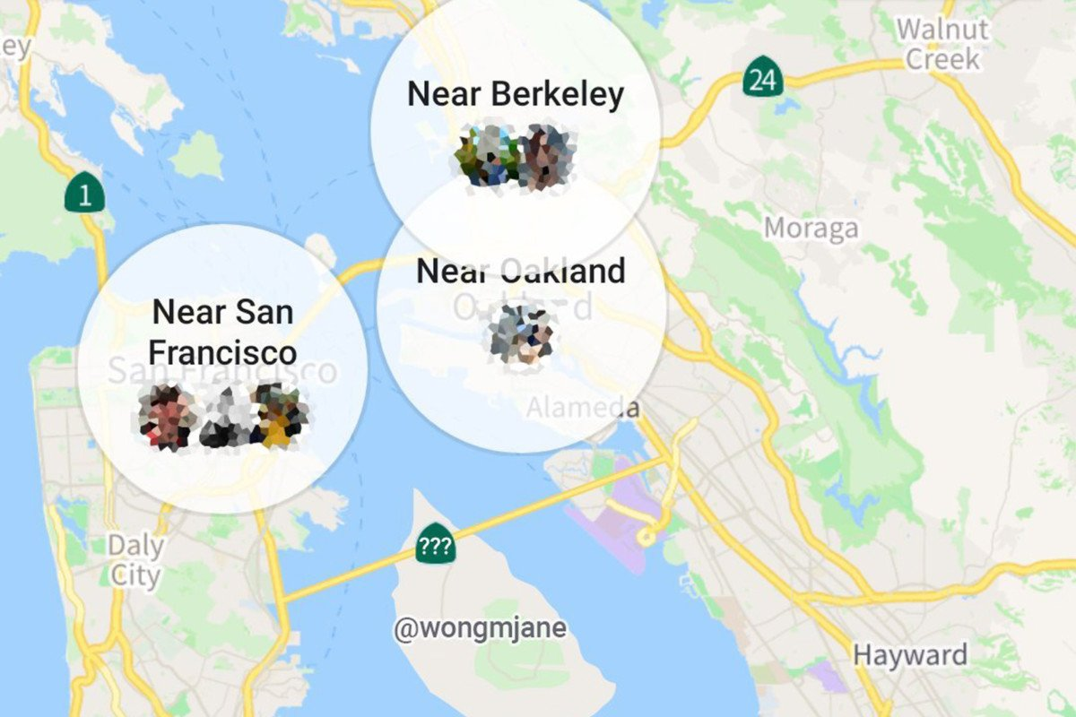 Facebook is testing new maps in the nearby friends feature