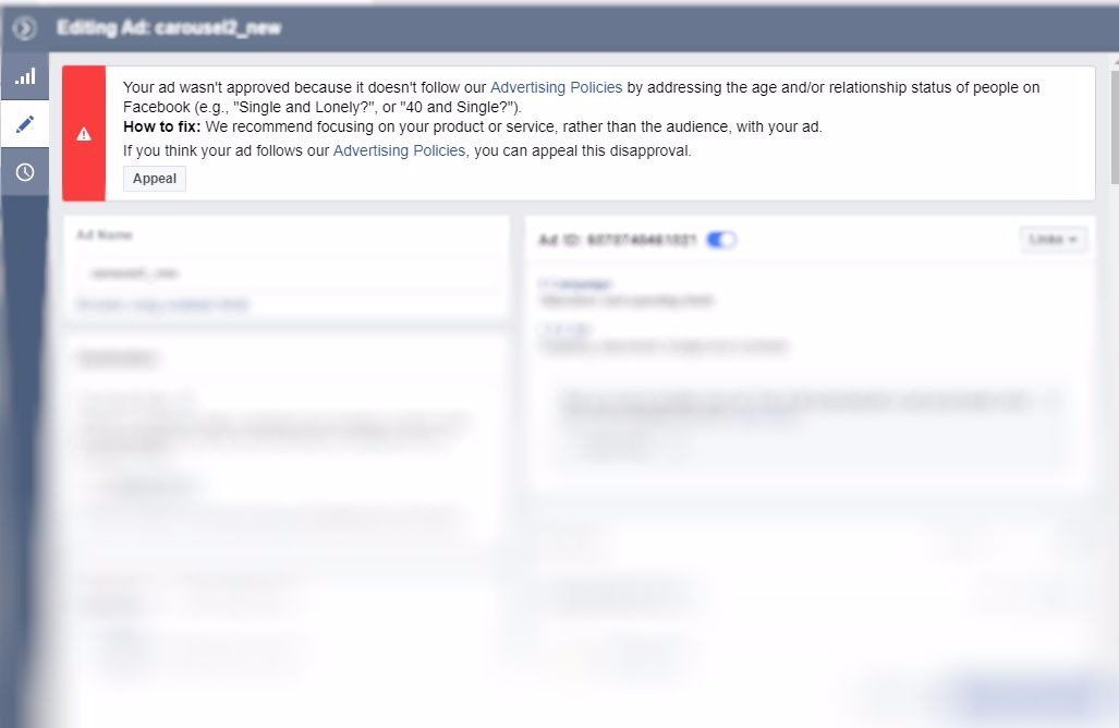 How not to get your ads disapproved by Facebook | Newsfeed org