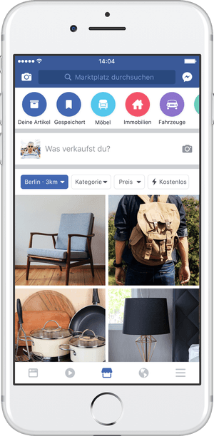 Facebook's Marketplace enters Europe | Newsfeed org