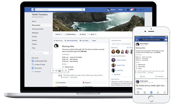 Facebook is preparing new tools for groups in 2019